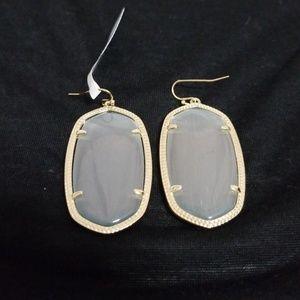 68d5364dc Jewelry | Teardrop Crystal Studded Dangle Earrings | Poshmark